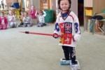 Vyzkoušeli jsme si některé zimní sporty a vytvořili atmosféru jako na Zimních olympijských hrách