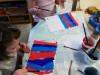 Ateliér-pruhované rukavice